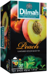 Dilmah Perzik vruchtenthee 20 Stuks