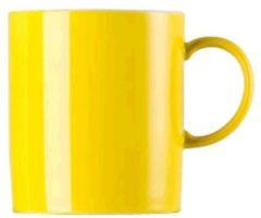 """Thomas """"Becher mit Henkel 300 ml """"""""Sunny Day Neon Yellow"""""""" Neon Yellow"""""""