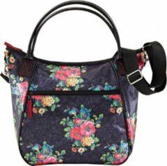 Zwarte Essenza Peru Shoulder Bag - Schoudertas - 40x40 cm - Multi