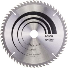 Bosch Kreissägeblatt Optiline Wood für Kapp- und Gehrung