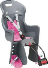 Polisport Fahrrad-Kindersitz ?Boodie? grau/pink