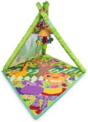 Lamaze speelmat 4-in-1 junior 61x 46 x 50 cm groen 5-delig