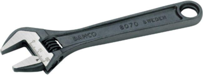 Afbeelding van Zwarte Bahco Moersleutel verstelbaar 300mm op kaart