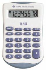 Texas Instruments Zak rekenmachine TI-501 55 mm Blauw, wit 90 x 55 x 10 mm