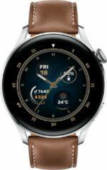 Roestvrijstalen Huawei Watch 3 Classic – Smartwatch – eSIM – 46mm – Bruin