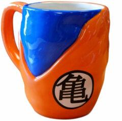 Gb Eye Mok Dragon Ball Z Goku Gi 475 Ml Oranje/blauw