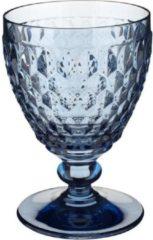 Blauwe Villeroy & Boch Boston coloured Witte wijnglas Blue - 12 cm - 0,23 l