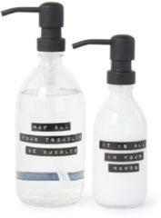 Transparante Wellmark Be Bubbles handzeep & handlotion - Limited Edition verzorgingsset