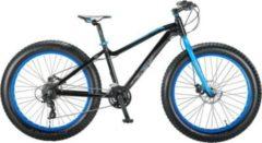 26 Zoll Herren Fat Mountainbike 21 Gang Hoopfietsen... schwarz-blau