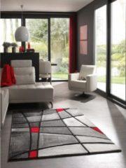 Rode Karpetexpert.nl Vloerkleed Brilliance 659-910 80x150 cm