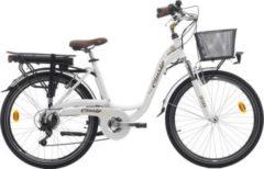 Cicli Cinzia 26 ZOLL ELEKTRO CITY FAHRRAD 7 GANG CINZIA SFERA E-Bike Damen weiß