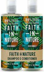 Faith in nature coconut shampoo en conditioner