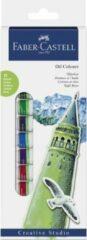 Olieverf Faber-Castell starterset 12 tubes à 12ml assorti FC-169502