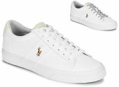 Witte Sneakers Sayer - Canvas by Polo Ralph Lauren