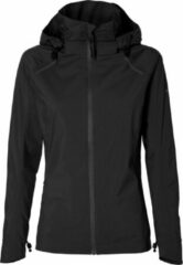 Zwarte Basil RAINJACKET SKANE LADIES Jet Black M