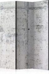 Grijze Kamerscherm - Scheidingswand - Vouwscherm - Concrete Wall [Room Dividers] 135x172 - Artgeist Vouwscherm