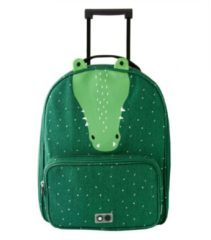 Trixie Mr. Crocodile Travel Trolley groen Zachte koffer