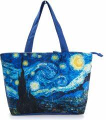 Robin Ruth Shopper Tas Small 38x25cm Van Gogh - Sterrennacht