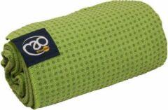 Mad Fitness MADFitness - Veelzijdige Grip Dot Handdoek - Extra Vochtabsorberend - Anti Slip - Incl Handige Draagtas - Groen