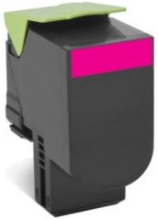 Paarse LEXMARK 802XM tonercartridge magenta extra high capacity 4.000 pagina s 1-pack return program