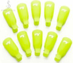 JS-Essentials Trendy Nagelclips: voor het verwijderen van gel-nagellak & acryl - Geel