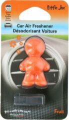 Little Joe car - geurverfrisser voor auto - oranje -fruit - car air freshener - autoparfum