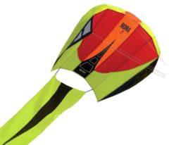 Rode Prism eenlijnsvlieger Bora 7 Blaze 124 x 81 cm groen/rood