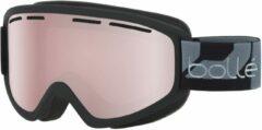 Zwarte Bollé Schuss Unisex Skibril - Matte Black Vermillon Gun - Lens Cat. 2