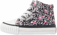 Roze DEE Baby meisjes hoge sneakers flamingo panterprint - Panterprint - maat 25