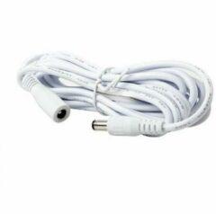 Witte Foscam Voeding Verlengkabel 3meter White (plug 3.5x1.35mm)