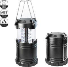 Zwarte CAMPINGWISE LED draagbare outdoor camping lamp, waterbestendig, sterk en zeer hoge lichtopbrengst