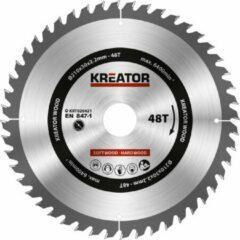 Kreator KRT020421 Zaagblad hout 210 mm - 48T
