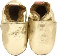 Gouden BabySteps slofjes Plain Gold Medium