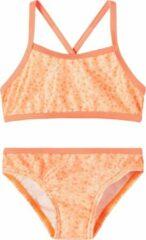 Oranje NAME IT MINI NMFFELISIA BIKINI BOX CAMP Meisjes Bikini - Maat 86-92