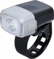 Zwarte BBB Cycling BLS-130 - Fietsverlichting NanoStrike - Fietslamp - 400 Lumen LED - USD oplaadbaar