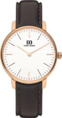 Roze Danish Design watches edelstalen dameshorloge Koltur Rose Gold Small IV17Q1175
