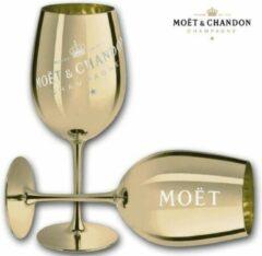 Moet & Chandon Moët & Chandon Champagneglas - Goud - 1 stuk - Limited Edition