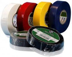 Gele Stokvis Tapes PVC Isolatietape 120021 20meter x 19mm geel