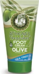 Pharmaid Athenas Treasures Voetcreme Tea Tree Oil 100ml | Voetverzorging Olijfolie