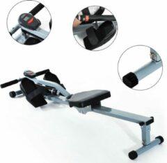 Grijze FitGoodz Roeitrainer - Roeimachine - Roeiapparaat - Roeitrainer fitness - Roeitrainers