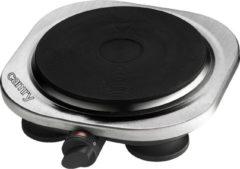 Zilveren Camry CR 6510 - Kookplaat - elektrisch - enkel - 1500W