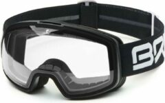 Zwarte Briko Nyira Photo Ski Goggles MATT BLACK -PHG13 - Maat One size