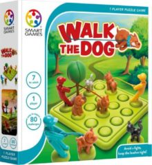 SmartGames Smart Games - Walk the Dog - denkspel - 80 opdrachten