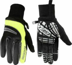 Fietshandschoen Rhodini Winter Pantin XL Zwart / Fluo