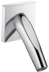 Axor Starck Organic uitloop sanitairkranen gegoten, chroom glans, hoogte 124mm