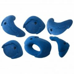 Blauwe Metolius - Roof Jug 6 Pack Blue Ribbon - Klimgrepen maat 6 Holds blauw