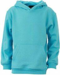 James & Nicholson James and Nicholson Kinderen/Kinderkapjes Sweatshirt (Pacifisch Blauw)
