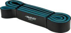 Avento Fitness Powerband Latex - Heavy - Zwart/Blauw