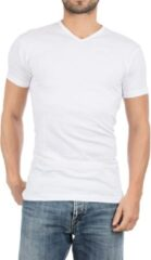 Witte Alan Red Vermont regular fit T-shirt met V-hals in 2-pack