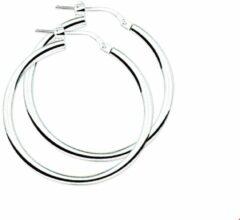 Zilveren The Jewelry Collection Oorringen Ronde Buis - Zilver